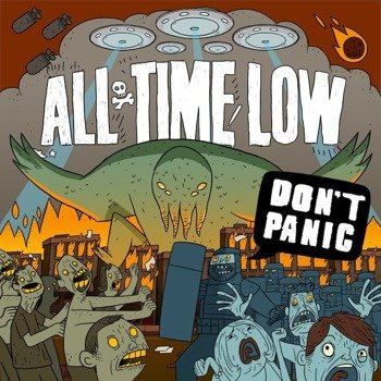 ALL TIME LOW: DON'T PANIC (CD)