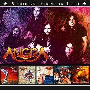 ANGRA: 5 ORYGINAL ALBUMS (5CD)