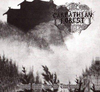 CARPATHIAN FOREST: TROUGH CHASM, CAVES & TITAN WOODS (LP VINYL)