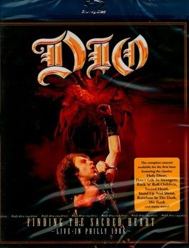DIO: FINDING THE SACRED HEART - LIVE IN PHILLY 1986 (BLU-RAY)