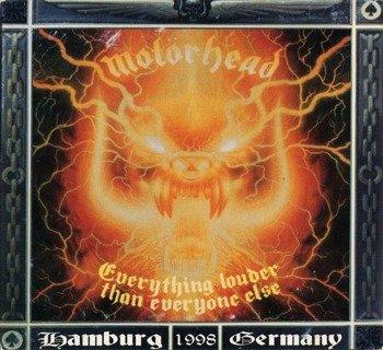 MOTORHEAD: EVERYTHING LOUDER THAN EVERYONE ELSE -LIVE HAMBURG 1998 (3LP VINYL)