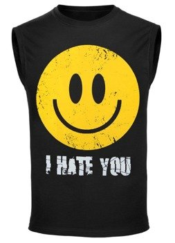bezrękawnik SMILEY - I HATE YOU
