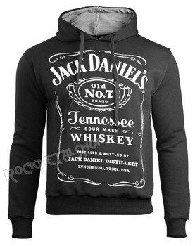 bluza JACK DANIELS - BLACK czarna, z kapturem