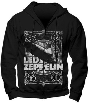 bluza LED ZEPPELIN - SHOOK ME rozpinana, z kapturem