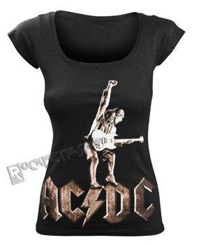 bluzka damska AC/DC - ANGUS STATUE