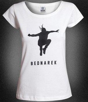 bluzka damska BEDNAREK - WITAJ EUFORIO biała