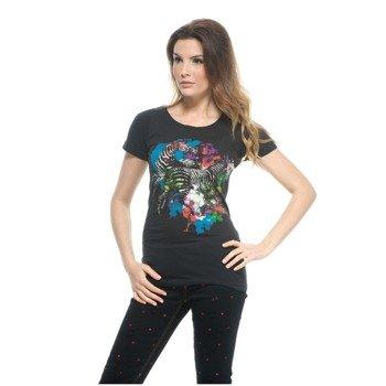 bluzka damska IRON FIST - SPACE ZEBRAS black