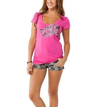 bluzka damska METAL MULISHA - LIGHTEN UP różowa