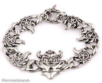 bransoleta DEVIL'S MASK