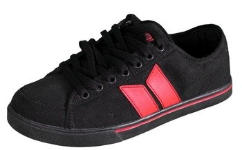 buty MACBETH - MANCHESTER (BLACK/BLOOD RED) 09'