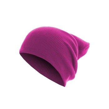 czapka zimowa MASTERDIS - BEANIE BASIC FLAP LONG magenta