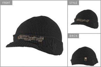 czapka zimowa z daszkiem FALL OUT BOY - BLACK BILLED