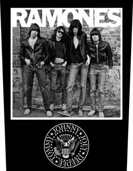 ekran RAMONES - 1976