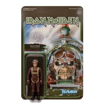 figurka IRON MAIDEN - EDDIE PILOT, 9.5 cm