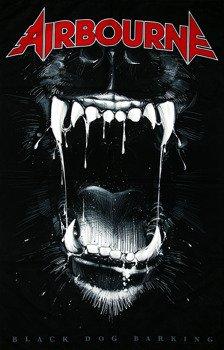 flaga AIRBOURNE - BLACK DOG BARKING
