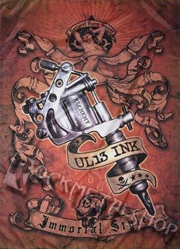 flaga ALCHEMY - UL13 - TATOO GUN