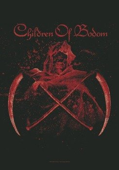 flaga CHILDREN OF BODOM - CROSSED SCYTHES