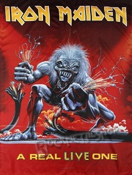 flaga IRON MAIDEN - A REAL LIVE ONE