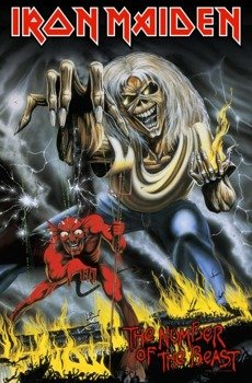 flaga IRON MAIDEN - THE NUMBER OF THE BEAST