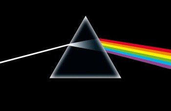 flaga PINK FLOYD - DARK SIDE OF THE MOON