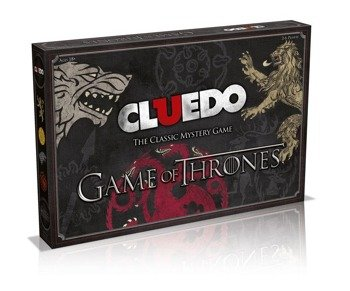 gra planszowa GAME OF THRONES BOARD GAME CLUEDO, English Version