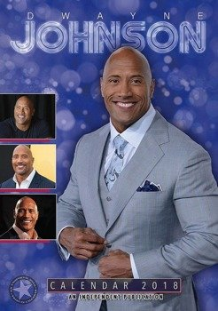 kalendarz DWAYNE JOHNSON 2018