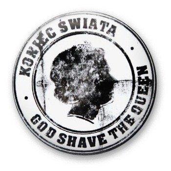 kapsel KONIEC ŚWIATA - GOD SHAVE THE QUEEN black