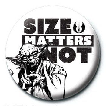 kapsel STAR WARS - SIZE MATTERS NOT