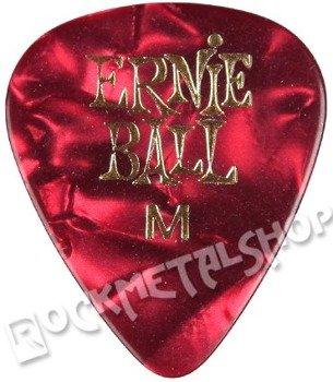 kostka gitarowa ERNIE BALL PEARLOID red