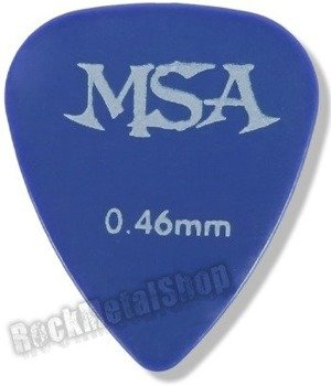 kostka gitarowa MSA BLUE