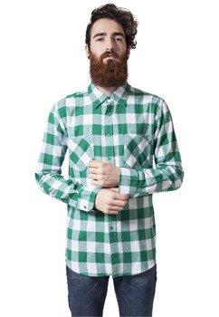 koszula CHECKED FLANELL wht/gnr