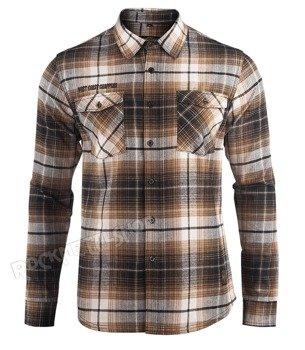koszula WEST COAST CHOPPERS - EL DIABLO BROWN
