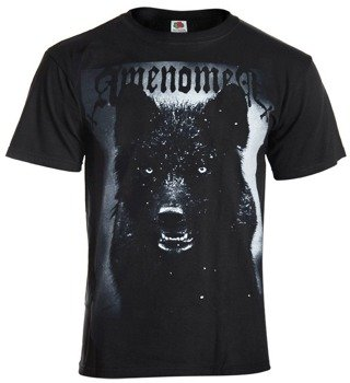 koszulka AMENOMEN - BLACK WOLF (OMEN024KM)
