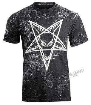koszulka AMENOMEN - PENTAGRAM (OMEN032KM ALLPRINT WHITE)