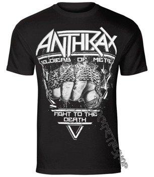 koszulka ANTHRAX - SOLDIER OF METAL FTD
