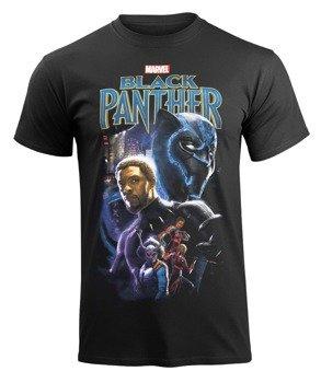 koszulka BLACK PANTHER - MONTAGE