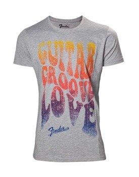 koszulka FENDER- GUITAR GROOVE LOVE