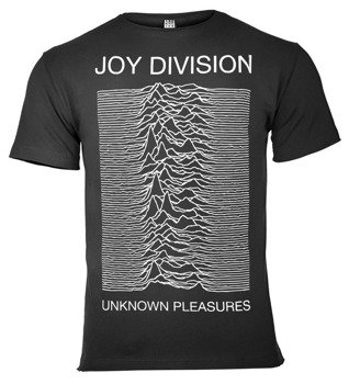 koszulka JOY DIVISION - UNKNOWN PLEASURES ciemnoszara