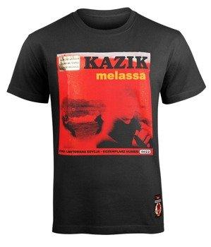 koszulka KAZIK - MELASSA czarna (VINYL EDITION)