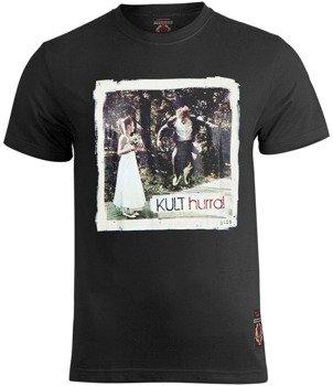 koszulka KULT - HURRA! czarna