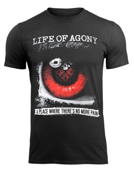 koszulka LIFE OF AGONY - A PLACE WHERE THERE'S NO MORE PAIN