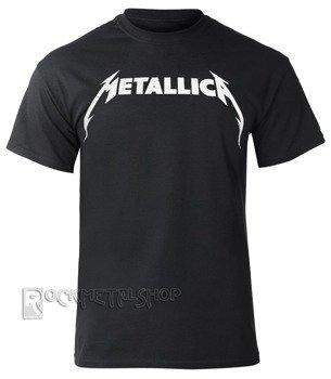 koszulka METALLICA - BLACK  WHITE LOGO