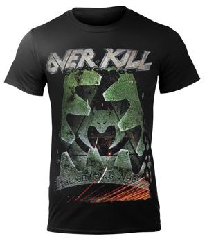 koszulka OVERKILL - THE GRINDING WHEEL