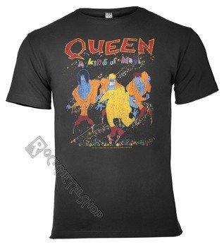 koszulka QUEEN - A KIND OF MAGIC ciemnoszara