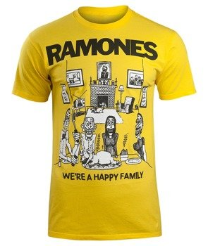 koszulka RAMONES - HAPPY FAMILY