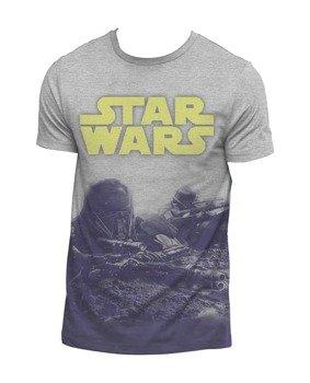 koszulka STAR WARS ROGUE ONE - GROUND BATTLE (DYE SUB)