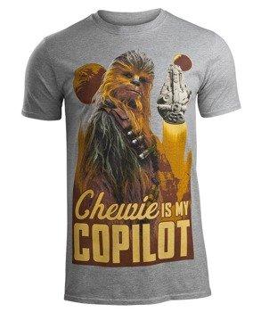 koszulka STAR WARS - SOLO CHEWIE CO-PILOT
