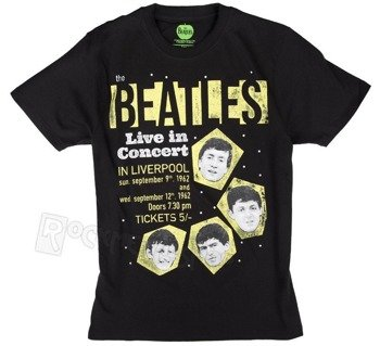 koszulka THE BEATLES - LIVE IN CONCERT