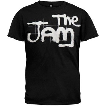 koszulka THE JAM - SPRAY LOGO BLACK