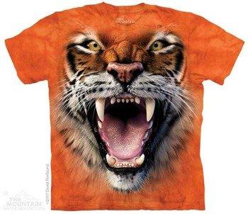 koszulka THE MOUNTAIN - ROARING TIGER FACE, barwiona